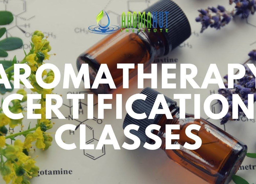 Aromatherapy Certification and Online Classes