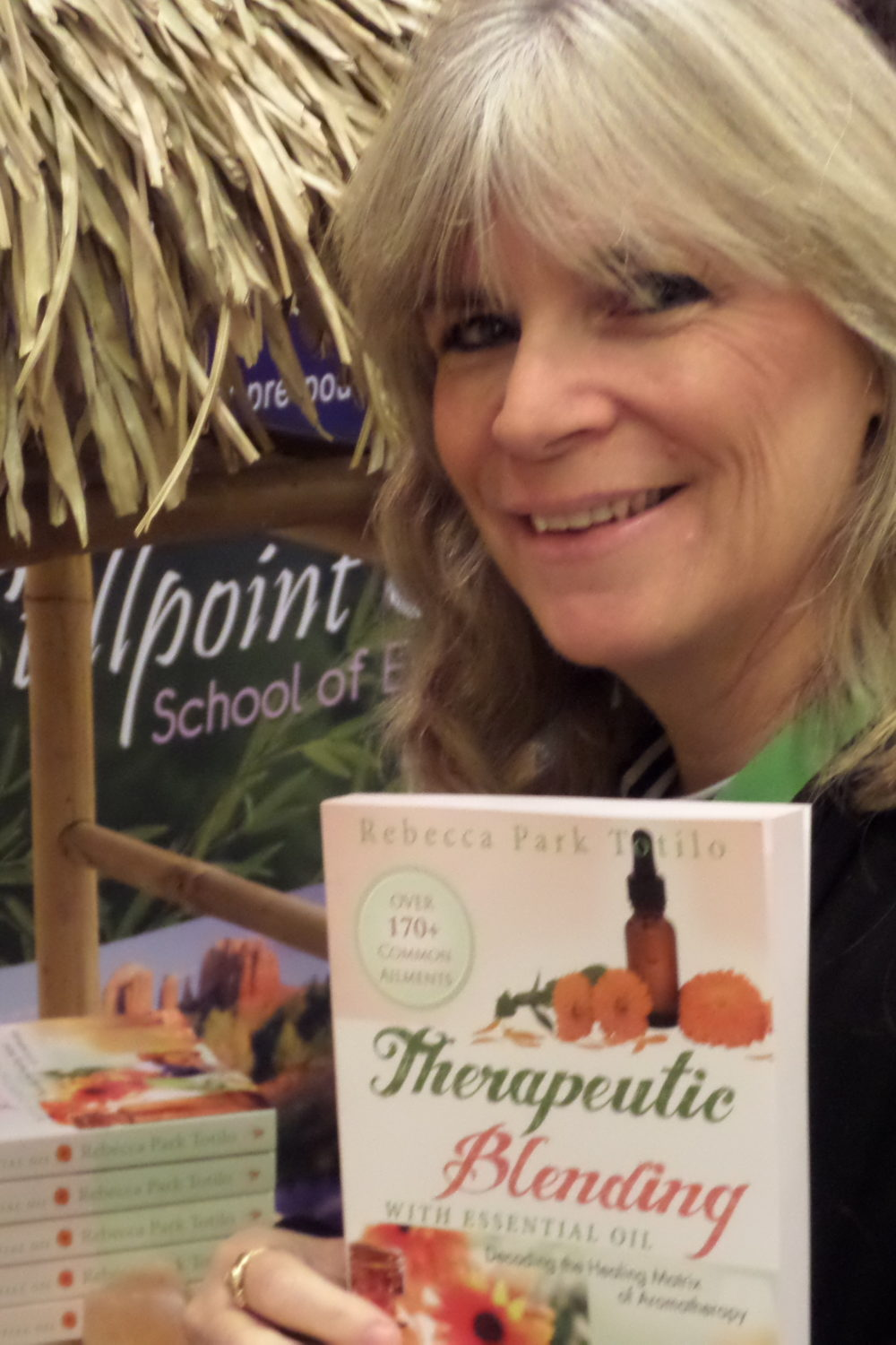 Aromatherapy and Essential Oil Books By Rebecca Park Totilo