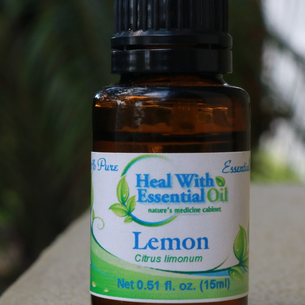Lemon Therapeutic Grade Essential Oil - Citrus limonum 15ml